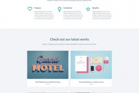 000 Impressive Web Template Free Download Idea  Psd Website Bootstrap Responsive