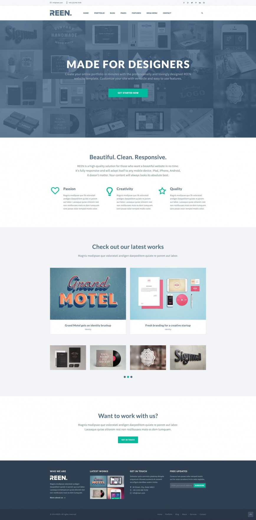 000 Impressive Web Template Free Download Idea  Psd Website Bootstrap Responsive868