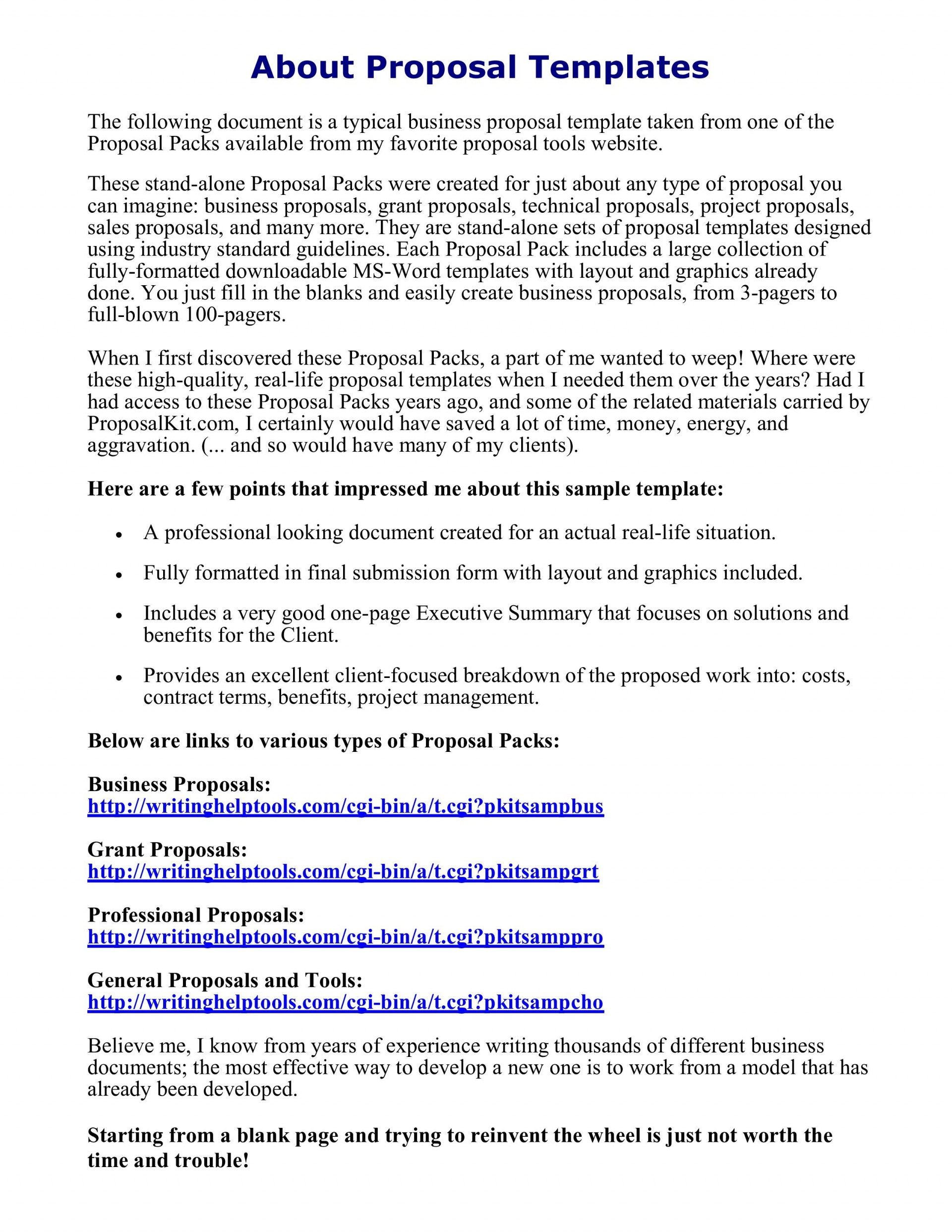 000 Incredible Busines Proposal Letter Template Design  Free Download1920