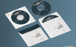 000 Incredible Cd Cover Template Psd Photo  Sleeve Case Free Download Layout