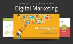 000 Incredible Digital Marketing Plan Template Ppt High Resolution  Presentation Free Slideshare