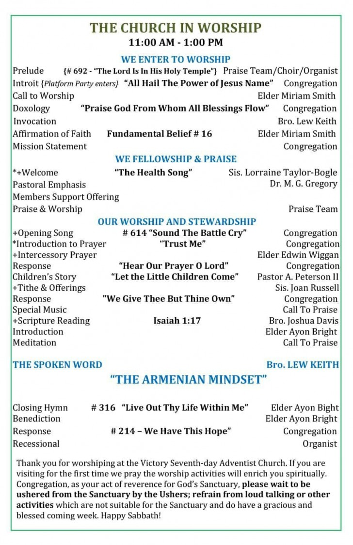 000 Incredible Free Church Program Template Word Inspiration  Bulletin For728