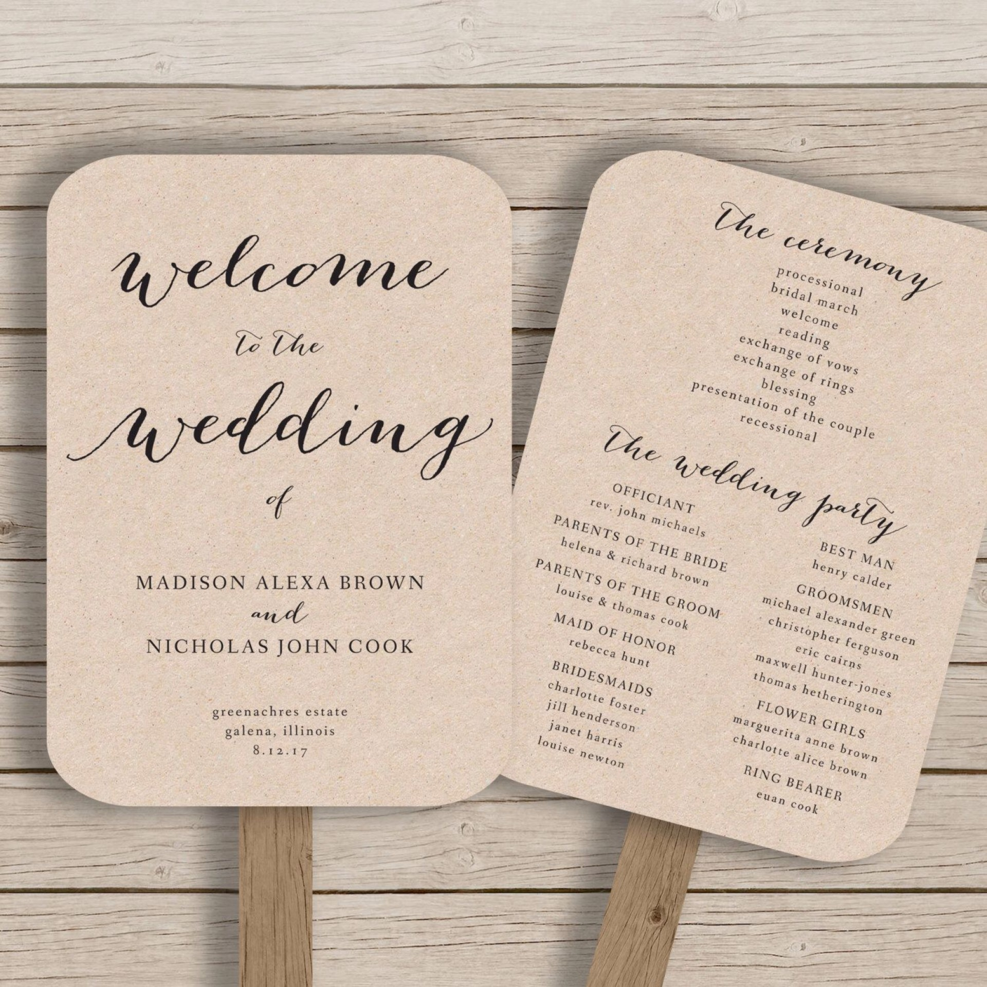 000 Incredible Free Printable Wedding Program Paddle Fan Template High Definition  Templates1920
