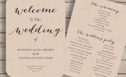 000 Incredible Free Printable Wedding Program Paddle Fan Template High Definition  Templates