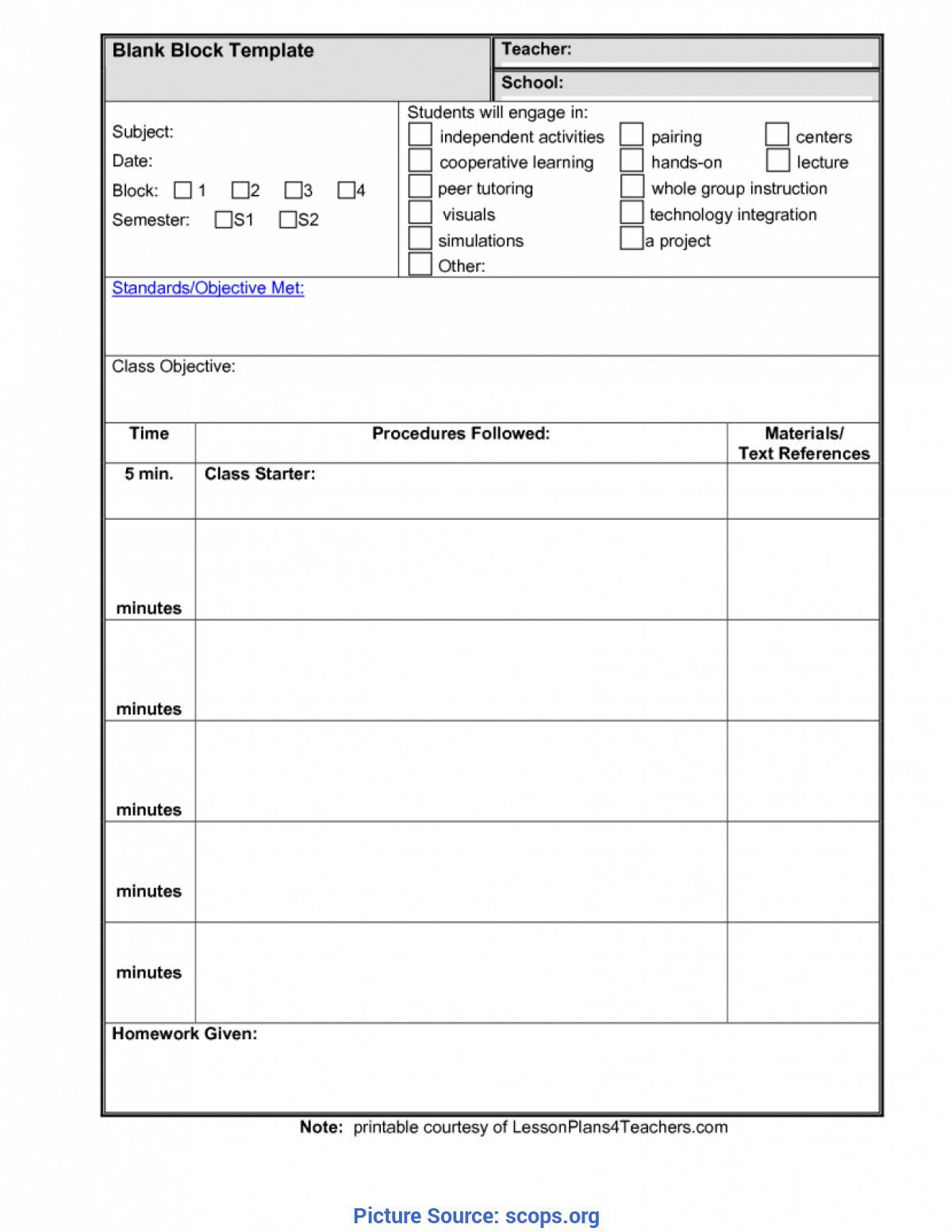 000 Incredible Free Unit Lesson Plan Template High Resolution Full