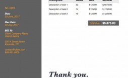 000 Incredible Freelance Writer Invoice Template Highest Quality  Writing Word Uk