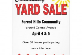 000 Incredible Garage Sale Sign Template Inspiration  Flyer Microsoft Word Community Yard Free Rummage