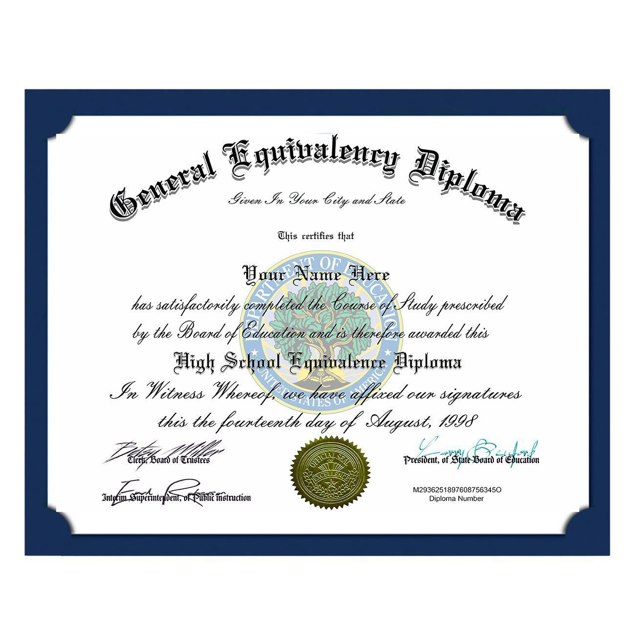 000 Incredible Ged Certificate Template Download Highest Quality  FreeFull