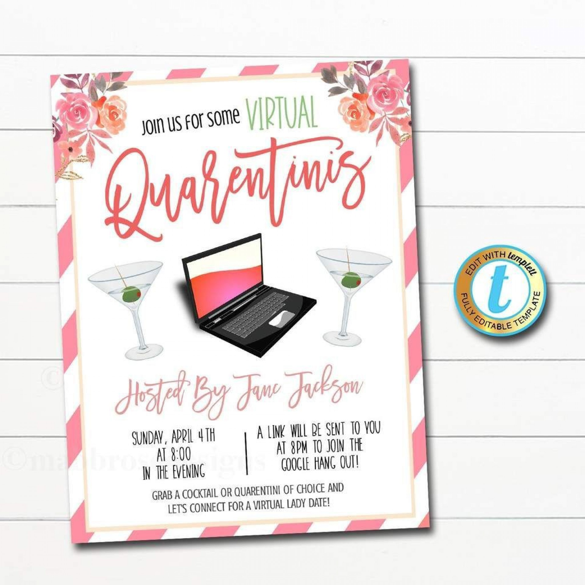 000 Incredible Happy Hour Invitation Template Highest Quality  Templates Free Word Farewell1920