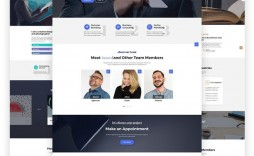 000 Incredible One Page Website Template Free Idea  Bootstrap 4 Html5 Download Wordpres