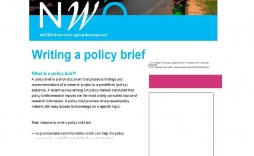 000 Incredible Policy Brief Template Microsoft Word Example  And Procedure