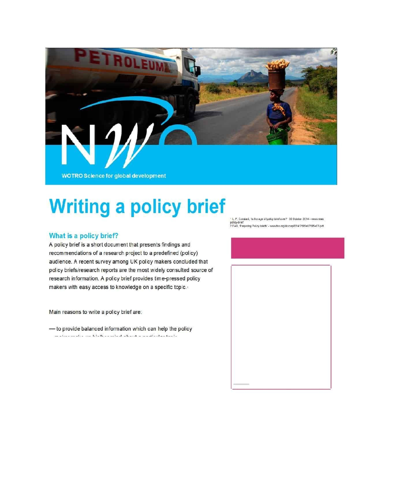 000 Incredible Policy Brief Template Microsoft Word Example  And ProcedureFull