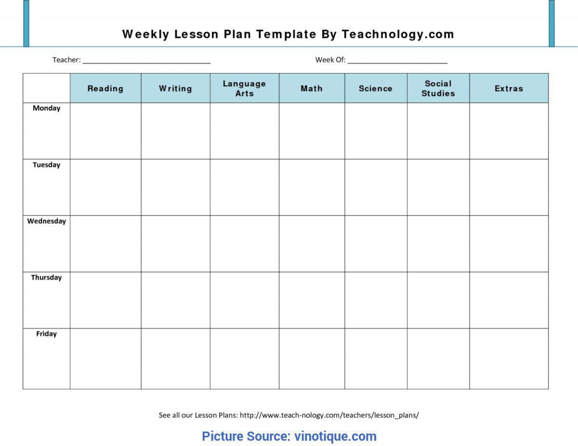 000 Incredible Preschool Lesson Plan Template Picture  Editable With Objective Pre-k Printable1920