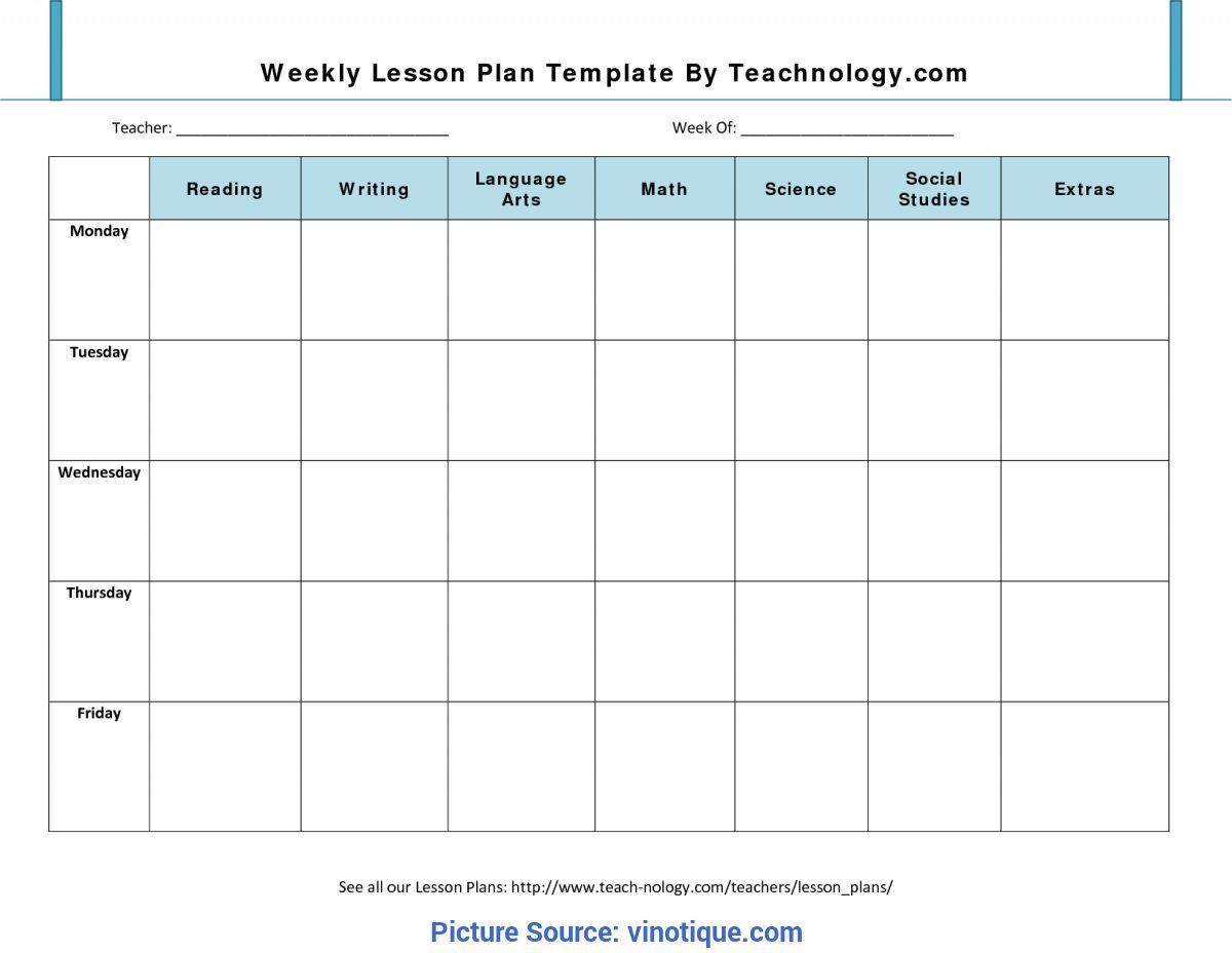 000 Incredible Preschool Lesson Plan Template Picture  Editable With Objective Pre-k PrintableFull