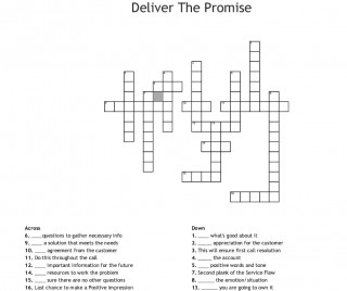 000 Incredible Promise Crossword Clue High Resolution  Go Back On A 6 Letter 3 Of Marriage 9320