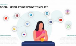 000 Incredible Social Media Powerpoint Template Free Idea  Strategy Trend 2017 - Report