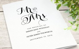 000 Incredible Wedding Order Of Service Template Free High Definition  Uk Church Download