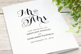 000 Incredible Wedding Order Of Service Template Free High Definition  Front Cover Download Church
