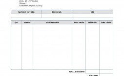 000 Incredible Work Invoice Template Word Concept  Hour