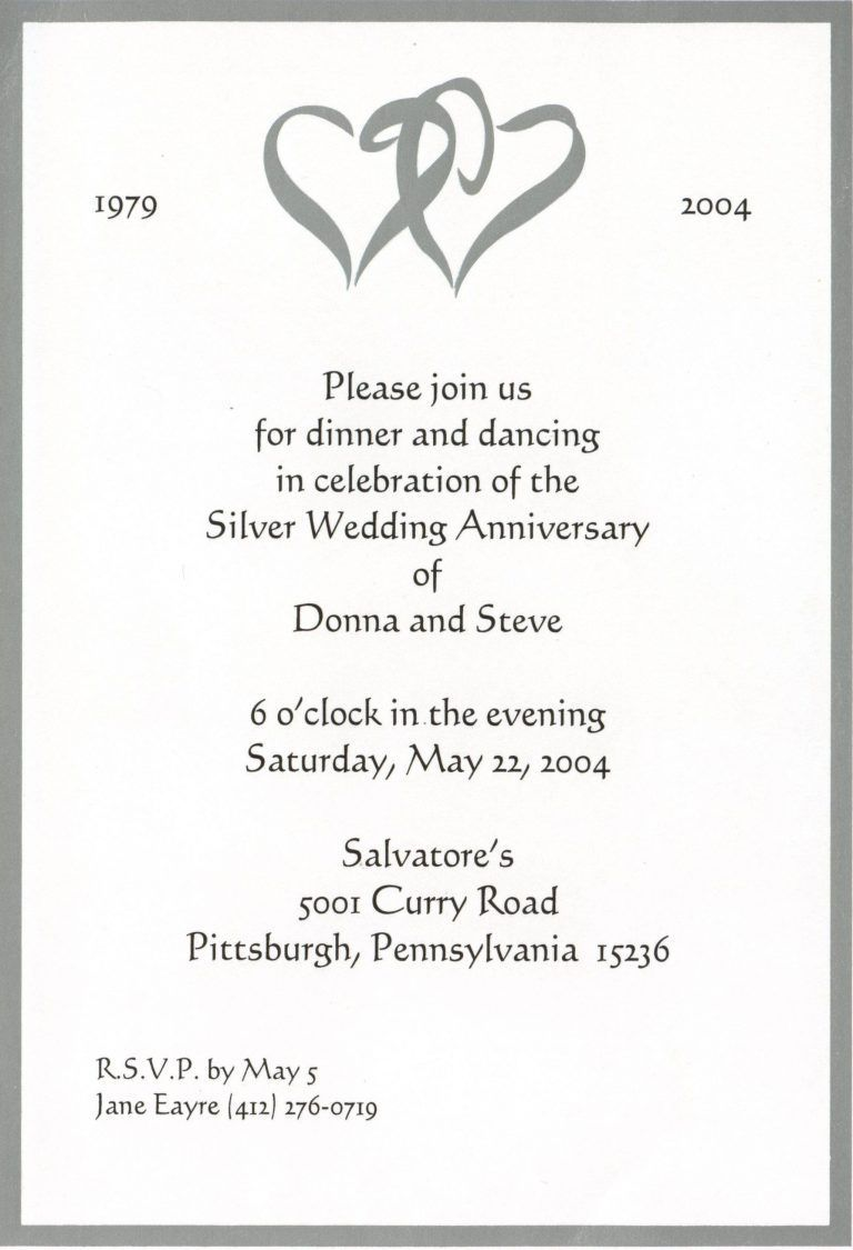000 Magnificent 50th Wedding Anniversary Party Invitation Template Image  Templates FreeFull