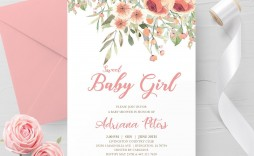 000 Magnificent Baby Shower Invite Template Word Highest Clarity  Invitation Wording Sample Free Example