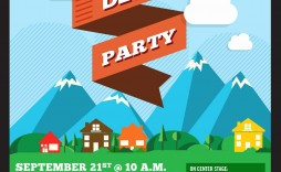 000 Magnificent Block Party Flyer Template Inspiration  Templates Free