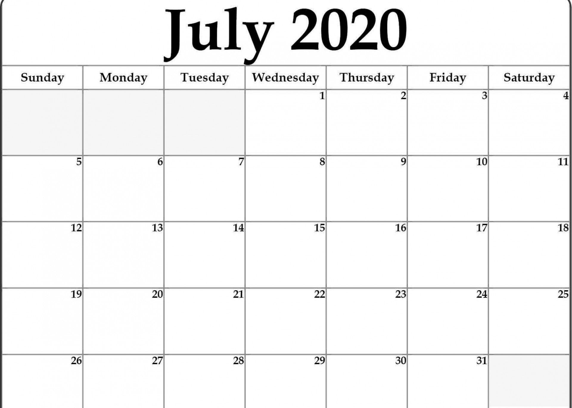 000 Magnificent Calendar 2020 Template Word High Def  Monthly Doc Free Download1920