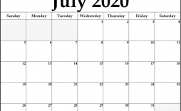 000 Magnificent Calendar 2020 Template Word High Def  Monthly Doc Free Download