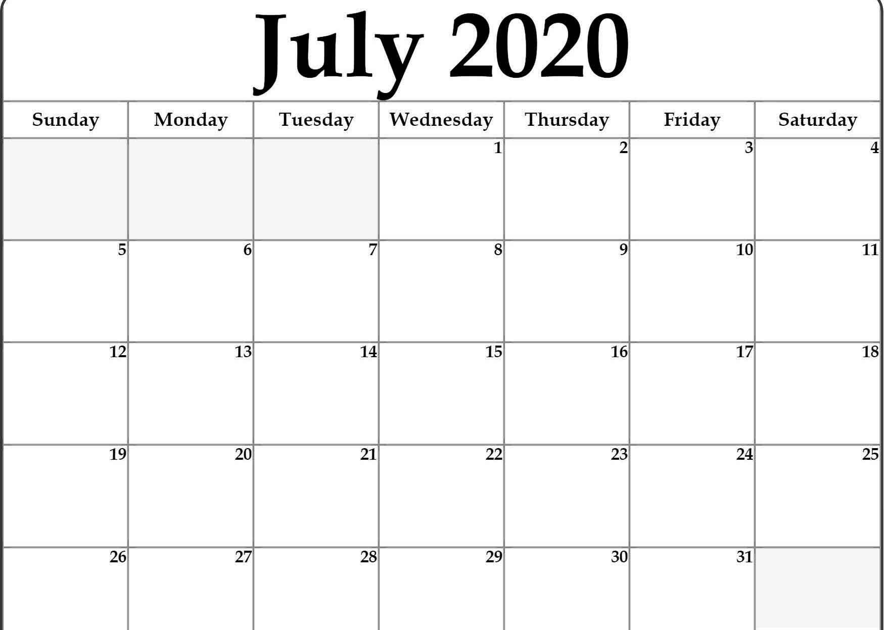 000 Magnificent Calendar 2020 Template Word High Def  Monthly Doc Free DownloadFull