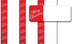 000 Magnificent Christma Addres Label Template Example  Free Download Shipping Card