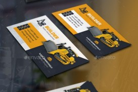 000 Magnificent Construction Busines Card Template Picture  Company Visiting Format Word For Material