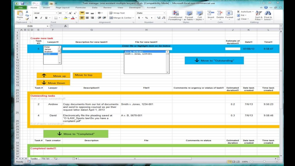 000 Magnificent Excel Task Tracker Template Design  Team Download TimeLarge