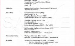 000 Magnificent Free High School Graduate Resume Template Def  Templates
