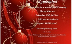 000 Magnificent Free Holiday Invitation Template Concept  Online Party Christma