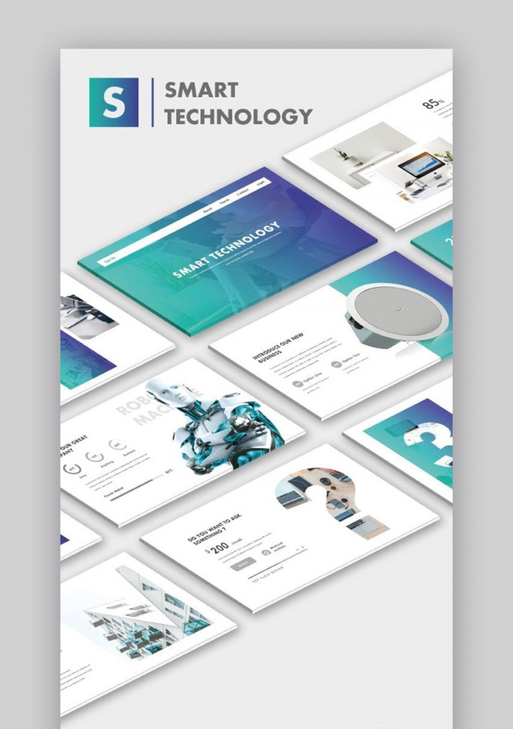 000 Magnificent Free Technology Powerpoint Template High Definition  Templates Animated Information DownloadLarge