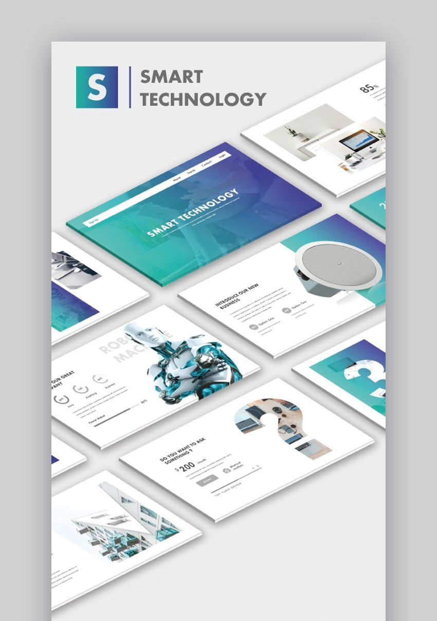 000 Magnificent Free Technology Powerpoint Template High Definition  Templates Animated Information DownloadFull