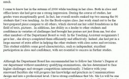 000 Magnificent Letter Of Recommendation Template For College Student Sample  From Professor
