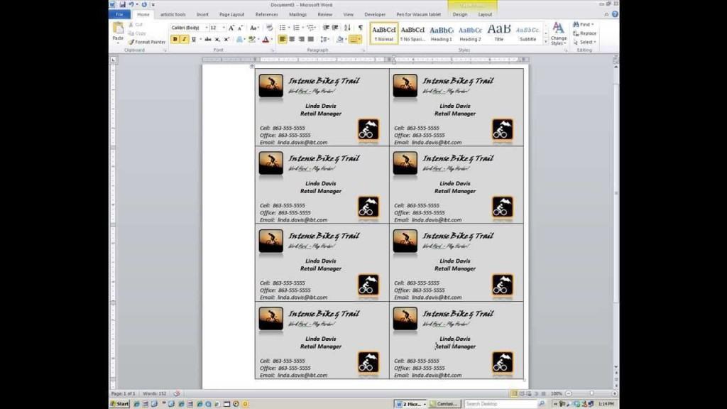 000 Magnificent M Office Busines Card Template Idea  Templates Microsoft 2010 2007Large