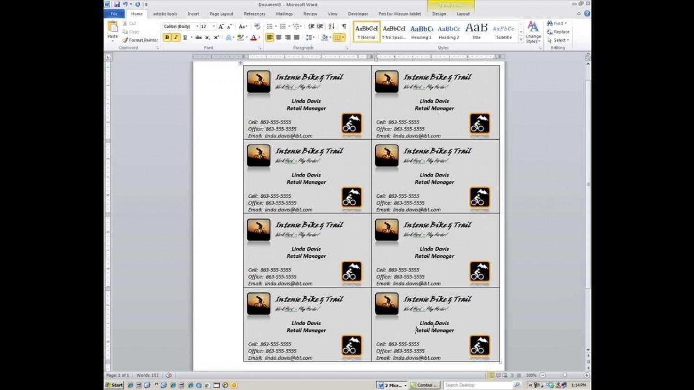000 Magnificent M Office Busines Card Template Idea  Microsoft 2010 2003 20071400