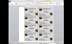 000 Magnificent M Office Busines Card Template Idea  Templates Microsoft 2010 2007