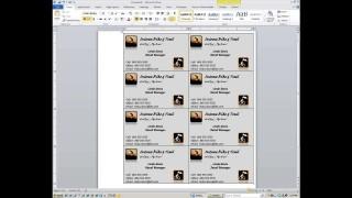 000 Magnificent M Office Busines Card Template Idea  Microsoft 2010 2003 2007320