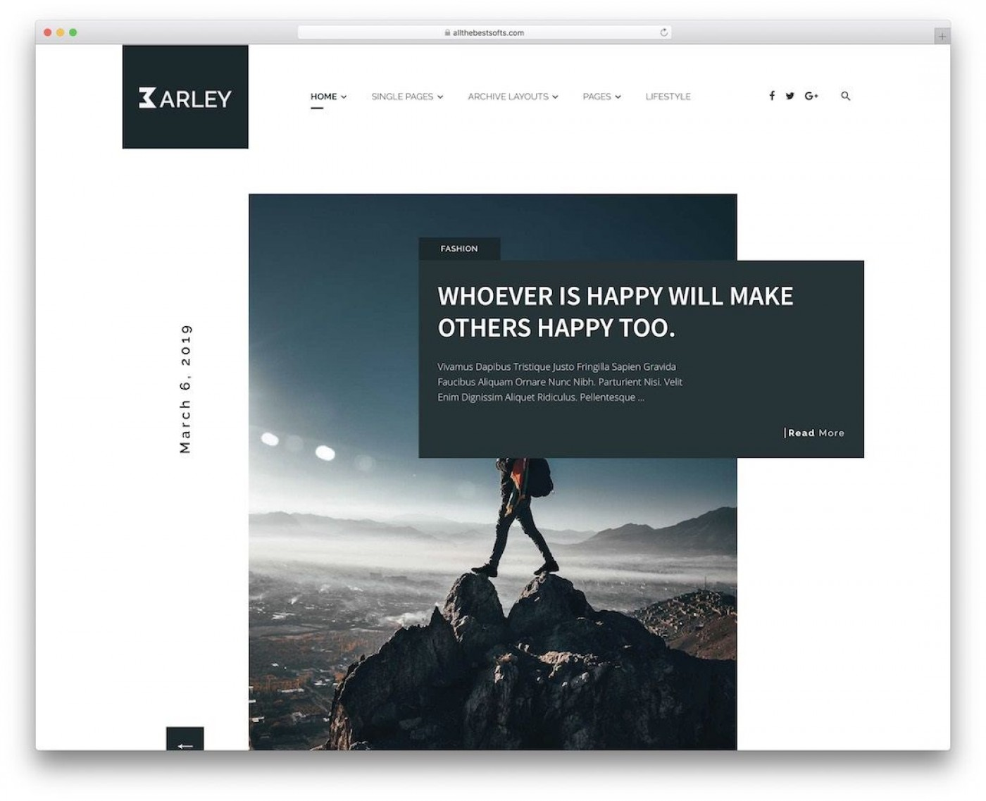 000 Magnificent Personal Website Template Bootstrap Concept  4 Free Download Portfolio1400