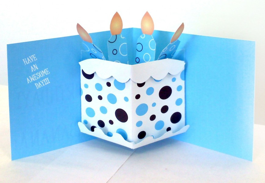 000 Magnificent Pop Up Card Template For Birthday Design  Birthdays Tutorial Idea