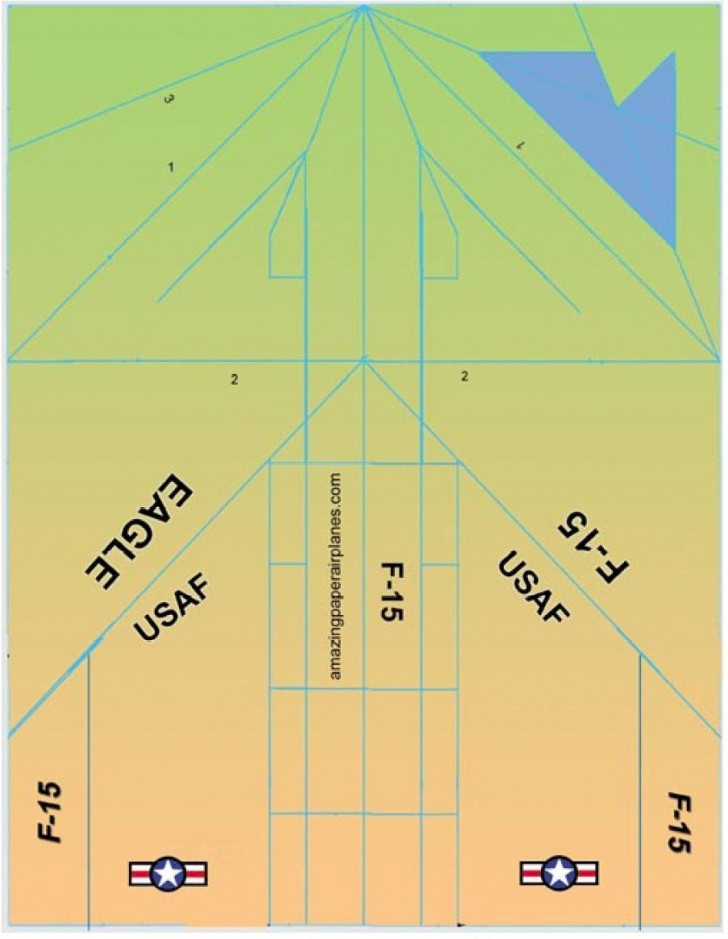 000 Magnificent Printable Paper Airplane Pattern Highest Quality  Free Plane Design Designs-printable Template728