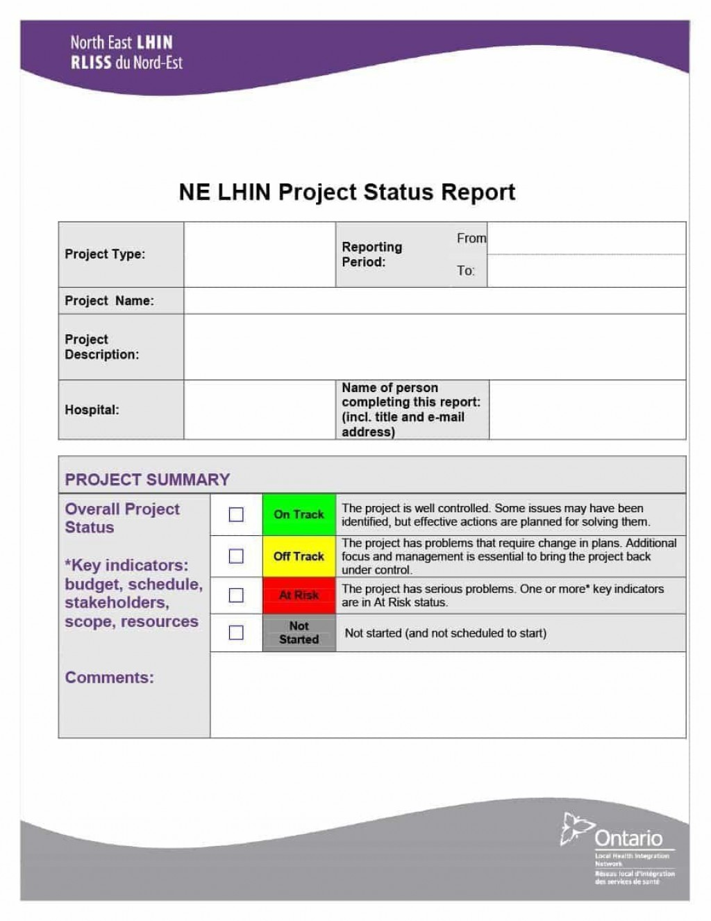 000 Magnificent Project Management Report Template Word High Definition  Free StatuLarge