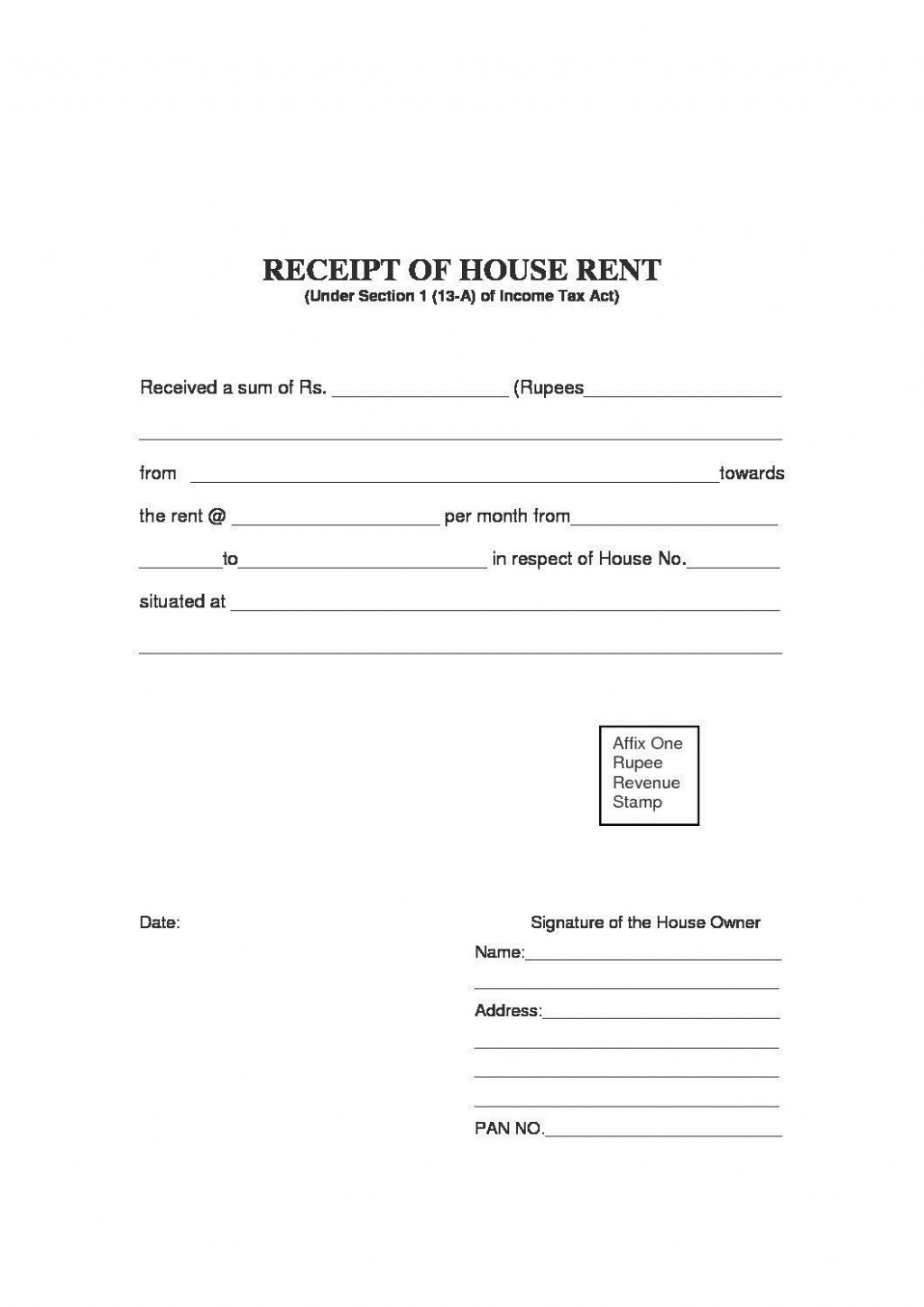 000 Magnificent Rent Payment Receipt Template High Definition  Excel FreeLarge