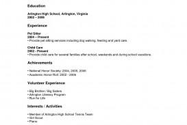 000 Magnificent Resume Template High School Picture  Student Australia For Google Doc Graduate Microsoft Word