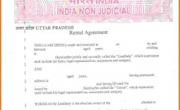 000 Magnificent Room Rent Agreement Format In Hindi Pdf Example
