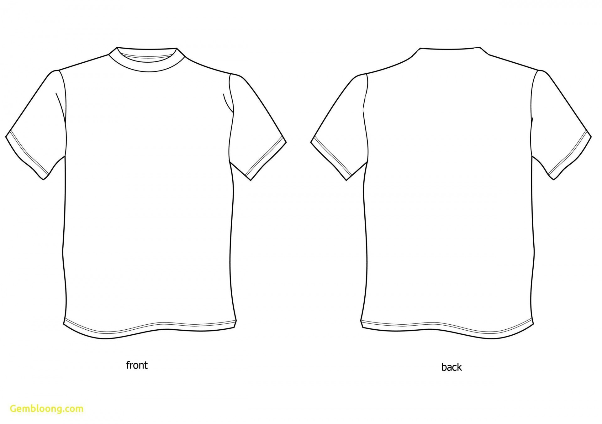 000 Magnificent T Shirt Template Design High Resolution  Psd Free Download Editable1920