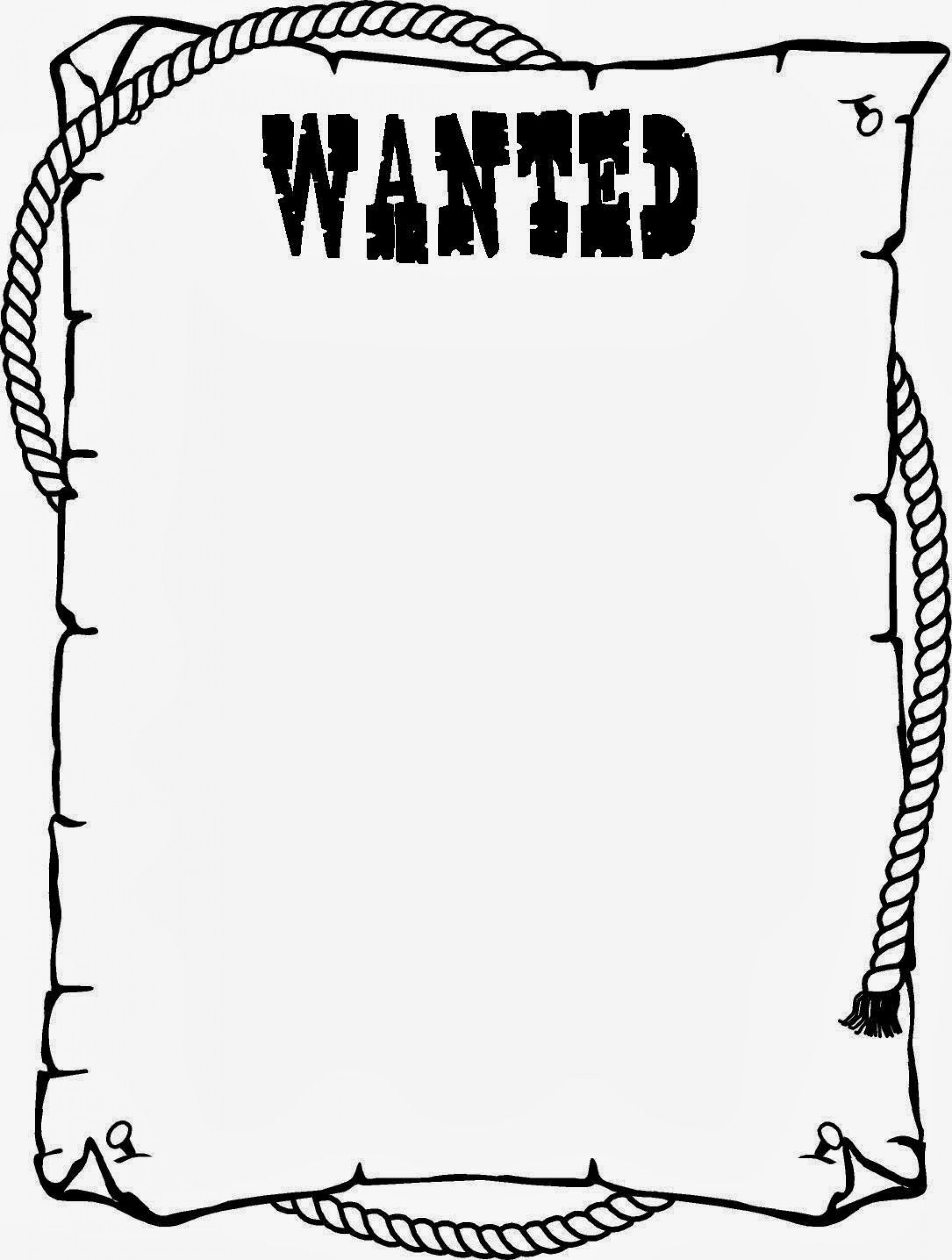 000 Magnificent Wanted Poster Template Pdf Highest Quality  Free Character1920
